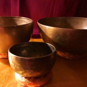 Balance sæt matte med tre skåle inkl. køller