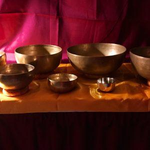 Chakrasæt (mat) 7 skåle med køller og grundbog